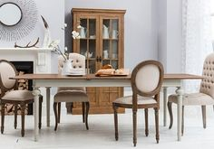 Contemporary Gallery Hudson Living Maison Extending Dining Table