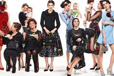 Моника Белуччи в рекламной кампании Dolce& Gabbana осень-зима 2015/2016