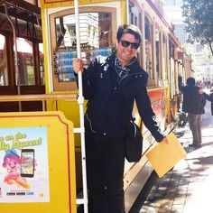 Cable Car  #me #men #guy #boy #fashion #style #stylish #fashionable #mensfashion #menstyle #menswear #menwithclass #menwithstyle #GQ #fashionblogger #photography #weekend #moda #estilo #sanfrancisco #SF #california #cali #saturday #afternoon #fun by manuelangels