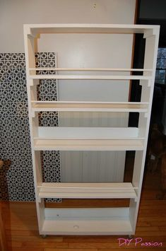 9 Sparkling Cool Tips: Guest Bedroom Remodel Floating Shelves bedroom remodeling diy.Basement Bedroom Remodel Tips small bedroom remodel awesome.Bedroom Remodel Before And After Spaces. Rolling Pantry, Rolling Shelves, Rolling Storage, Small Space Storage, Storage Spaces, Pull Out Pantry, Diy Spice Rack, Diy Kitchen Storage, Pantry Storage