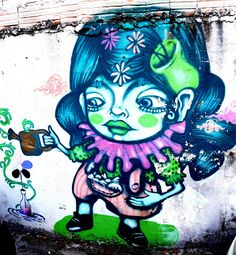 São Paulo, Brasil - Street Art & Graffiti - This is from the Vila Madalena (near Beco do Batman) region of São Paulo, Brasil. Wherever I am in the city...you find incredible pieces of work. Original photography from R. Stowe.
