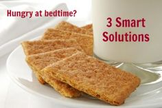 Do you get hungry at bedtime? Try these 3 smart solutions to squash your nighttime hunger while still losing weight!
