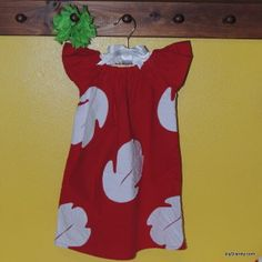 diyDisney Lilo Dress Tutorial