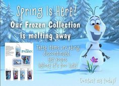 wendyleal: These Disney Frozen products will be gone this Friday! Who do you k…   FindSalesRep.com