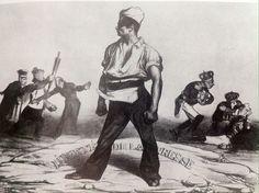 Liberte de la Presse, Honoré Daumier