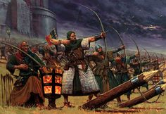 Bretonian archers; Exploring Believability: Analysis: Warhammer Fantasy