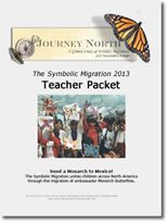 It's time to create your ambassador butterflies for the symbolic migration.