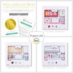 Head on into your local @HobbyLobby ! Inside the below 3 exclusive Core Kits (September Skies, Fine and Dandy, and Open Book) we have hidden 300 winning tickets that will be redeemed for an exclusive Value Kit that was created just for this sweepstakes!!  All instructions for receiving your free Value Kit are included on the card so you'll know exactly what to do.