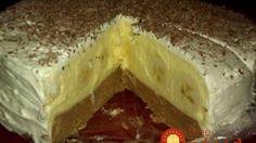 Banánová torta bez pečenia