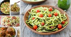 ZOODLES! 8 Magnificent Zucchini Noodle Recipes You'll Want To Eat All The Time <3 via @eatlocalgrown