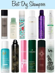 Best Dry Shampoos!