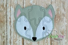 Wolf Felt Puzzle and many more items are available for purchase at https://www.etsy.com/shop/SchoolhouseBoutique