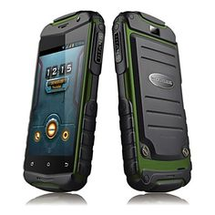 "DOOGEE TAITANS DG150 3.5"" 3G Android 4.2 Smart Rugged Phone(FM,Wi-Fi,GPS,Dual Core) – USD $ 79.99"