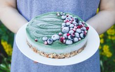Raw Superfood Avocado Cake [Vegan, Gluten-Free] - One Green PlanetOne Green Planet