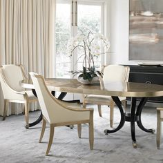 Glamour is in no short supply when the gold leaf finish of my Forthside Chairs is in view… http://www.maxsparrow.com.au/products/forthside-chair