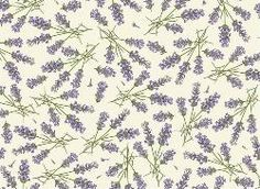Lavender - Lavanda decorated wrapping paper
