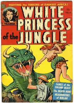 Digital Comic Museum Comic Viewer: White Princess of the Jungle 004