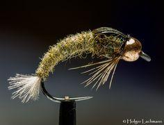 Tungsten Caddis Larva By Holger Lachmann