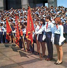 The Pioneers - youth association which educated young people in teh spirit of socialism. basically all students over the age of 14 were members.