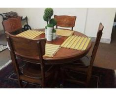 Dining Table With 4 Seats Good Condition For Sale In Peshawar