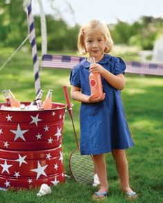 "See the ""Stick-On Stars"" in our Patriotic Red, White, and Blue Crafts and Party Decorations gallery"