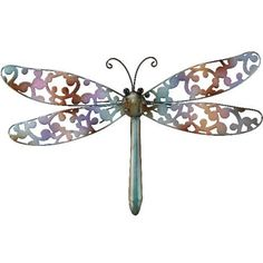 Wall Decor Dragonfly SM Blue - Regal Art #10118 by Regal Art and Gift. $17.97. Special Painting Techniques Creates A 'Patina' Effect.. Use Of Richly Colored Automobile Paint Creates Quality, Durable Finish.. Extensive Handcrafting Is Put Into Each Piece.. Mix And Match Items In Same Or Different Themes.. This Wall Decor Dragonfly SM Blue - Regal Art #10118 is hand-painted metal with stunning three dimensional details and rich colors. Special painting technique...