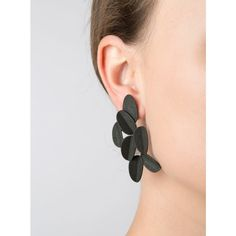 Leaves Earrings (Large) by Maison 203 | http://adornmilk.com