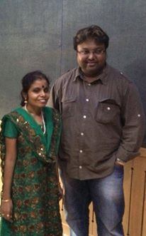 Happy to bring the talented Vaikom Vijayalakshmi (Visually Challenged) to Tamil cine music industry via #Yennamoyedho starring Gautham Karthik in the lead..Vijayalakshmi is also a talented Gayathri veena artist..you can look out for her song's instrumental version too..  Praise God!