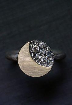 Moon & Stars Ring