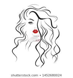 Find Beautiful Sexy Face Red Lips Hand stock images in HD and millions of other royalty-free stock photos, illustrations and vectors in the Shutterstock collection. Thousands of new, high-quality pictures added every day. Beauty Logo, Face Art, Girly Art, Line Art Drawings, Nature Art Painting, Silhouette Art, Hair Vector, Female Face Drawing, Diy Canvas Art
