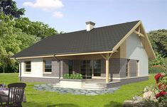Compact House, Country House Design, Home Technology, Sims House, Planer, Gazebo, Kitchen Design, House Plans, Shed