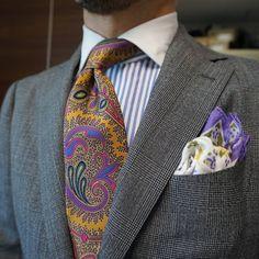 """maidoookini: """"Goooo morning The flavor of UK… """" Modern Mens Fashion, Mens Fashion Suits, Men's Fashion, Der Gentleman, Gentleman Style, Southern Gentleman, Mode Masculine, Sharp Dressed Man, Well Dressed Men"""