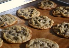 Barley Chocolate Chip Cookies
