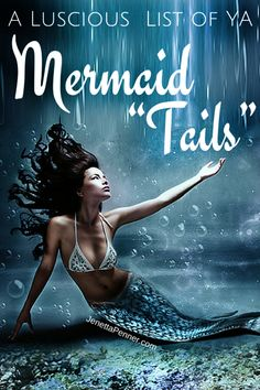 """Are you a fan of mermaid stories? I loved the Little Mermaid growing up and tales about people living under the sea always seemed so fascinating.  This is a great list of some fun Mermaid """"tails""""."""