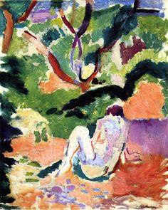 Nude in a Wood Henri Matisse - 1906