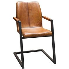 Freischwinger_Stuhl_Echt_Büffelleder_Torme_Cognac  #buffelleder #cognac #freischwinger #stuhl #torme Design Lab, Dining Room Chairs, Table And Chairs, Dining Tables, Decoration, Country Style, Armchair, Interior Decorating, Sofa