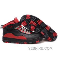 49f8293e239323 Air Jordan Retro 10 Shoes Red Black Jordan 10