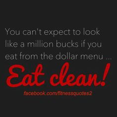 Hahaha. Love this! I spend soo much on food and its totally worth it when I see progress.