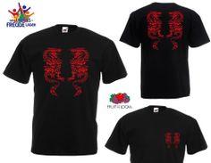 Drachen - FRUIT OF THE LOOM T-Shirt - Flexdruck - verschiedene Farben