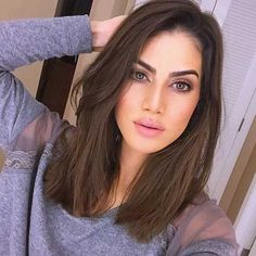 Long Face Hairstyles, Medium Bob Hairstyles, Best Short Haircuts, Trending Hairstyles, Straight Hairstyles, Haircut Medium, Medium Short Haircuts, Haircut For Long Face, Haircut For Medium Length Hair