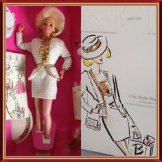 1993 Mattel Collector Edition Classique CIty Style Barbie 10149 NEW NRFB Adult #Barbie #DollswithClothingAccessories