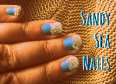 Sandy Sea Nails