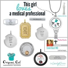 #Medical Professional ~ Personalize you own items with our Inscriptions Pieces