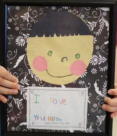 Mother's Day Craft using Dollar Store picture frames!
