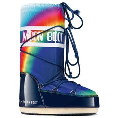 Unisex Adults Original Tecnica Moon Boot New Rainbow 2.0 Nylon Boots US 4-12.5 in Clothing, Shoes & Accessories, Women's Shoes, Boots | eBay