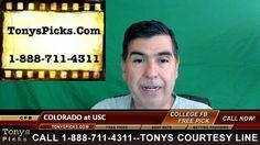Colorado Buffaloes vs. USC Trojans Pick Prediction NCAA College Football...