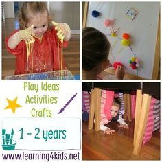 Over 100 Play Ideas and Activities for 1-2 Years - this is also being constantly updated!