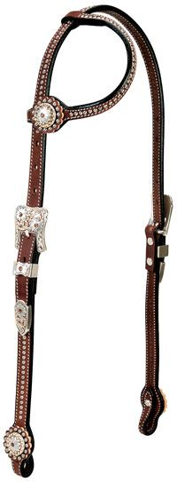 @ChickSaddlery Weaver Stacy Westfall Showtime One-Ear Headstall #tackdreams