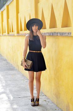little black dress hipster
