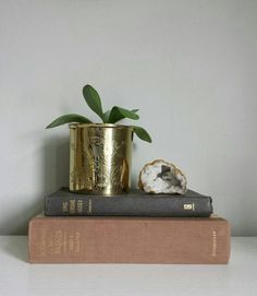 Brass Vase Mid Century Modern Planter Brass Planter Gold Planter Pot Antique Planters Flower Planters Gold Plant Pot Brass Flower Pot Etched Vase by ShopMidCenturyModest